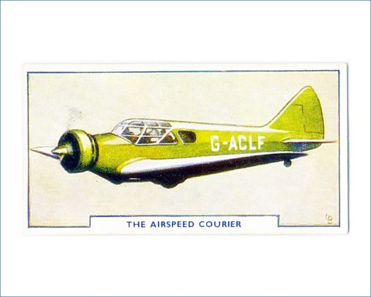 Airspeed Courier 8x10