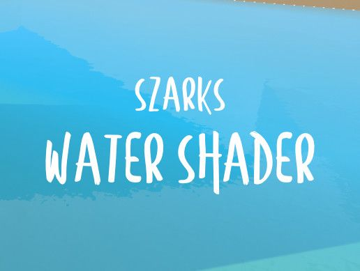I released my first asset! [Szark's Water Shader] and I need your