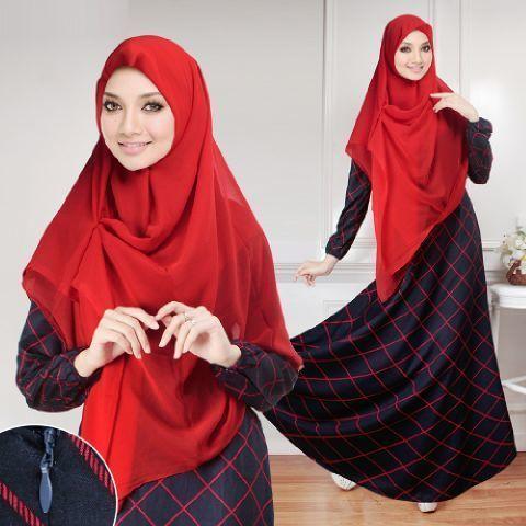 Tresqila Diamond Longsleeve Muslim Set