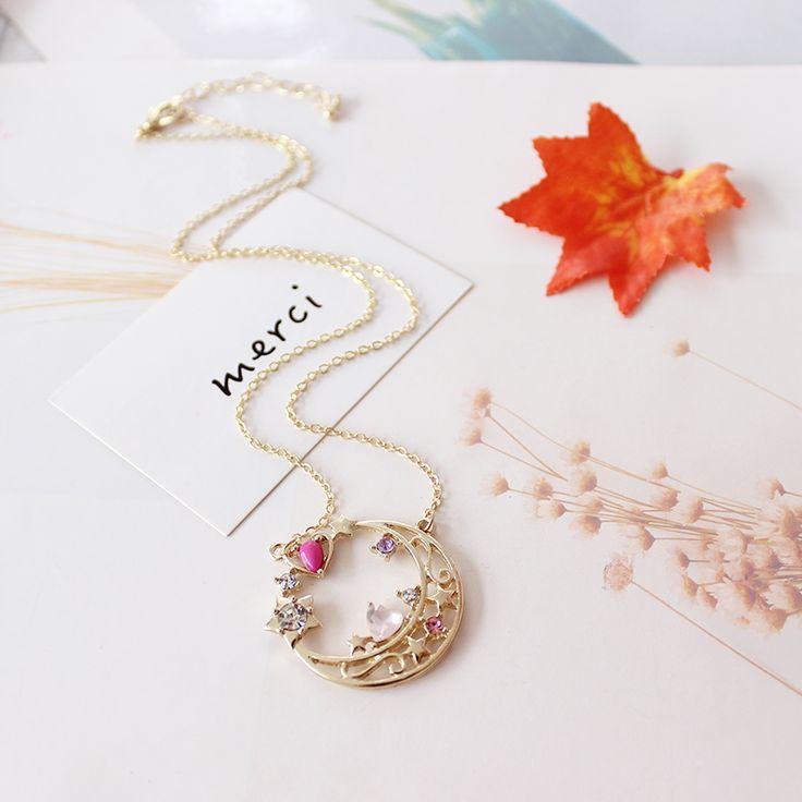 Sailor Moon Necklace //Price: $8.99 & FREE Shipping //     #anime #otaku #manga #kawaii #animegirl #animelover