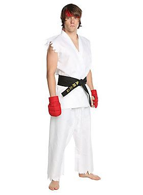 Street Fighter Ryu Costume #HotTopic