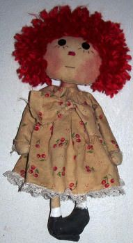 Lillie Mae's Crafts - Loads of FREE adorable primitive dolls patterns!