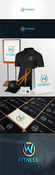 Create a new logo for W Fitness (formerly WOW! Work Out World) by VlaMo™