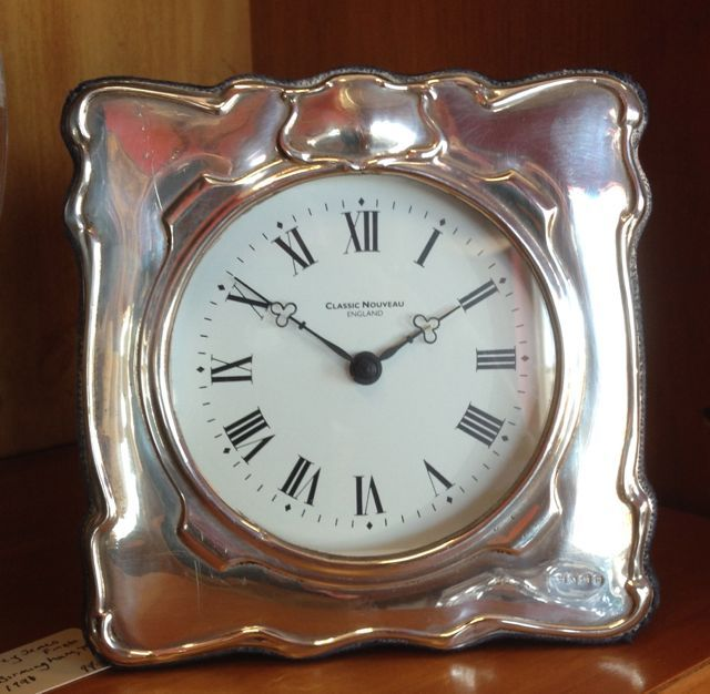 Good BEST In The BEDROOM Reward Yourself With A Silver Framed Bedside Clock.  Made In Birmingham