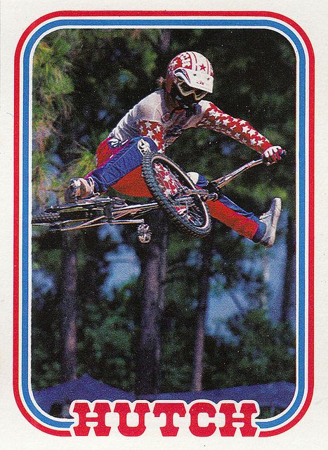 Vintage Hutch Trading Card BMX