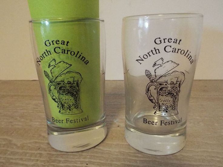 lot 2 north carolina great beer festival beer tasting glasses free ship