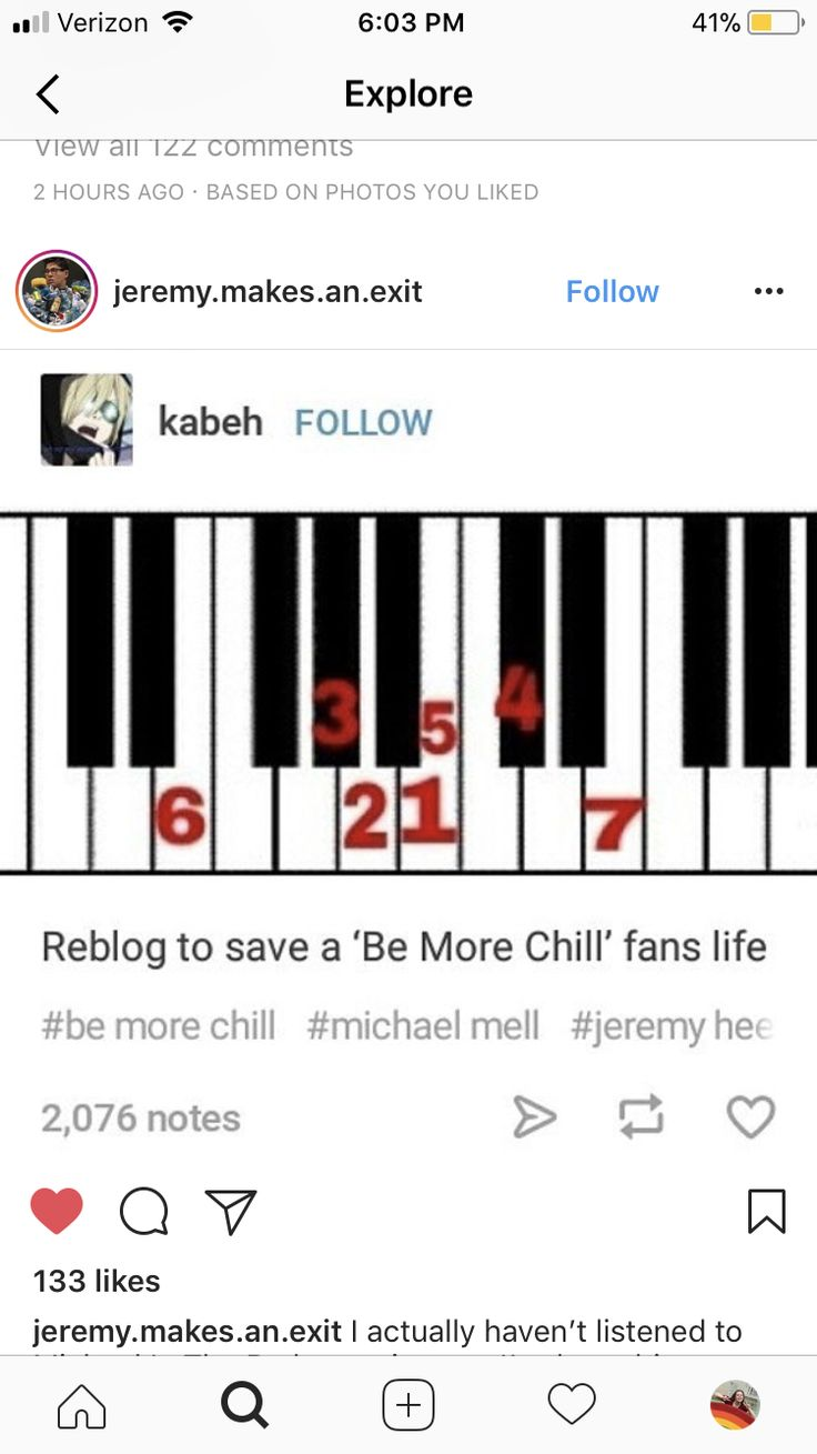 I remember figuring this out while messing with my piano and I just stopped and stared at my hands for a minute