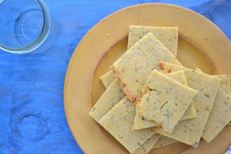 Rosemary Almond Flour Crackers - Dr. Mark Hyman