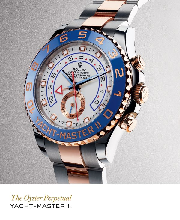 Buy it for him. Steal it to prep up your own outfits.  Rolex Yacht-Master II in …