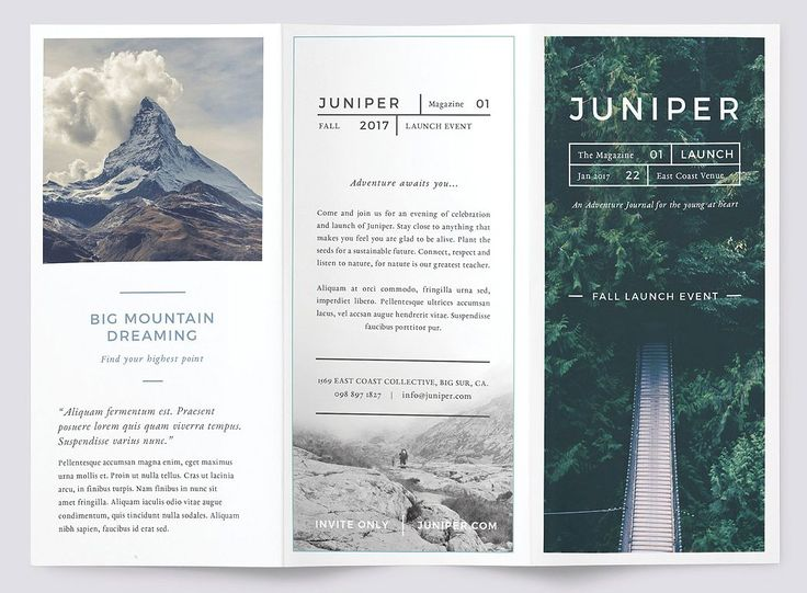 Přes 25 nejlepších nápadů na téma Marketing Materials na Pinterestu - sample marketing brochure