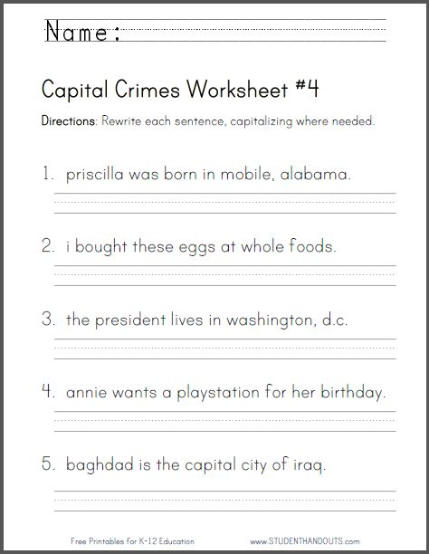 This Is A Good Worksheet For Practice Either In Centers Or As