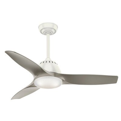 """44"""" Wisp 3 Blade LED Ceiling Fan with Remote"""