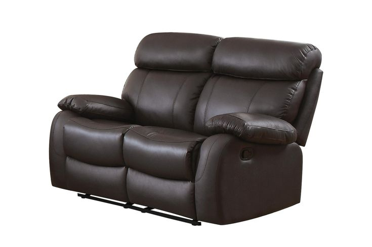 Homelegance Pendu Leather/Leatherette Double Reclining Loveseat