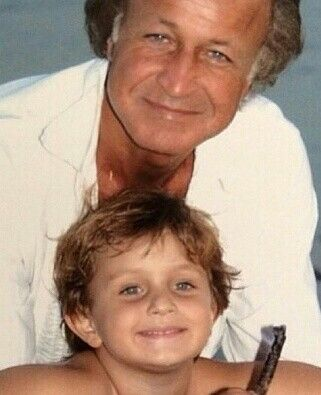 Young mohamed hadid with son anwar