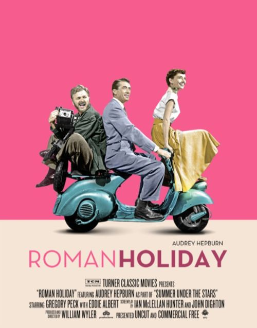 Roman Holiday - 1953. A wise-cracking reporter and a princess on the lam meet cute and have a sweet interlude in Rome. It glows in spite of being in black and white.: Movie Posters, Romans, Film, Romanholiday, Audrey Hepburn, Favorite Movies, Holidays, Gregory Peck, Roman Holiday