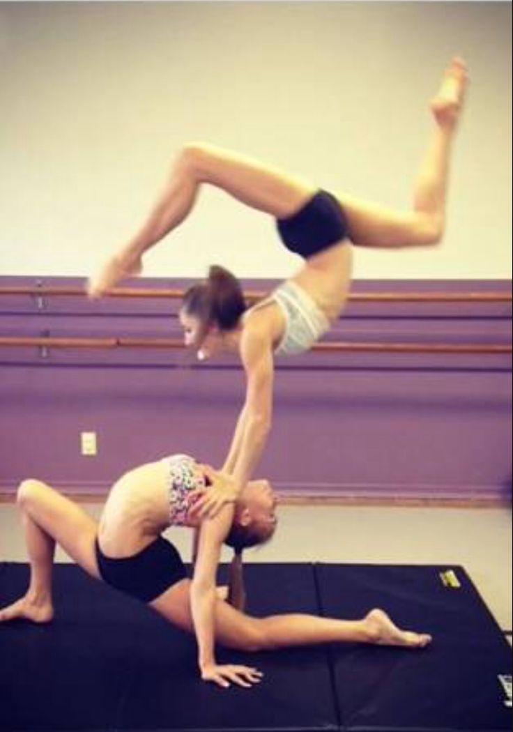 2 people acro tricks - Google search   >Acro/Gymnastics ...
