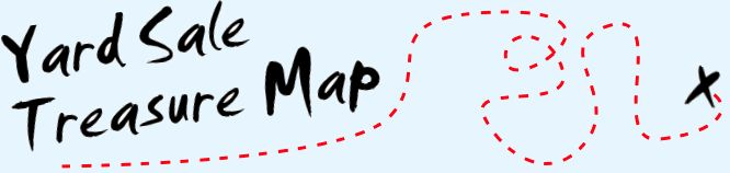 Yard Sale Treasure Map - A Yard Sale Planning Tool - I've used this for a while, & it's REALLY helpful!