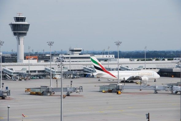 A380 am Flughafen München