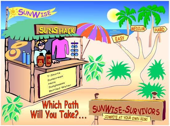 sunsmart coloring pages - photo#36