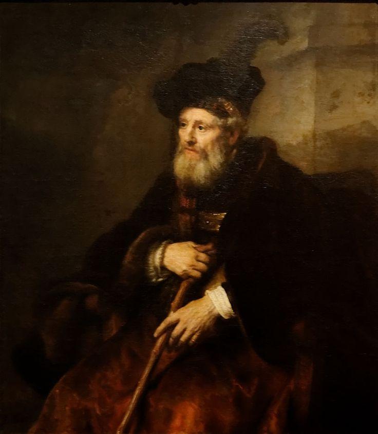 Portrait of an Old Man Rembrandt 1645 - Rembrandt — Wikipédia