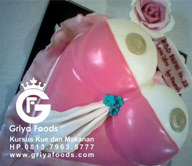 Contoh kue ulang tahun dari Fondant, Fondant Cake