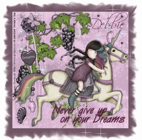 Gorjuss Girl Stamp : The Runaway