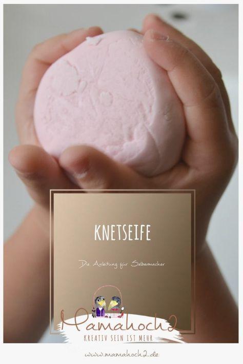 Knetseife selber machen DIY Anleitung Seife zum Kneten