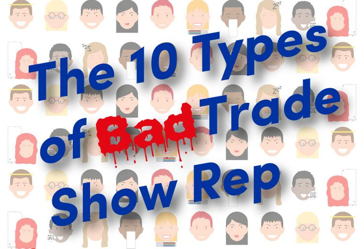 The Predator, The Boozer, The Angry Bird...... Do you recognise any of these types of bad #tradeshow #sales rep? https://www.displaywizard.co.uk/display-hub/10-bad-trade-show-reps/ #salestips   #marketingtips   #eventmarketing  #businesstips #funny