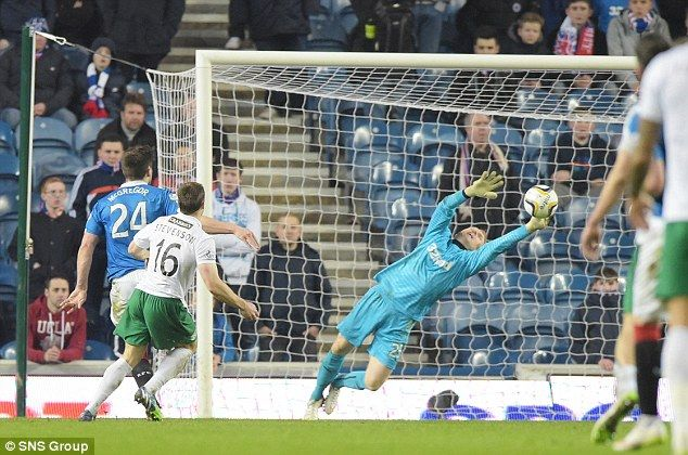 Friday 13th brings more bad luck for Rangers as defeat against Hibs #dailymail