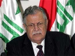 Iraqi President Jalal Talabani suffers a stroke