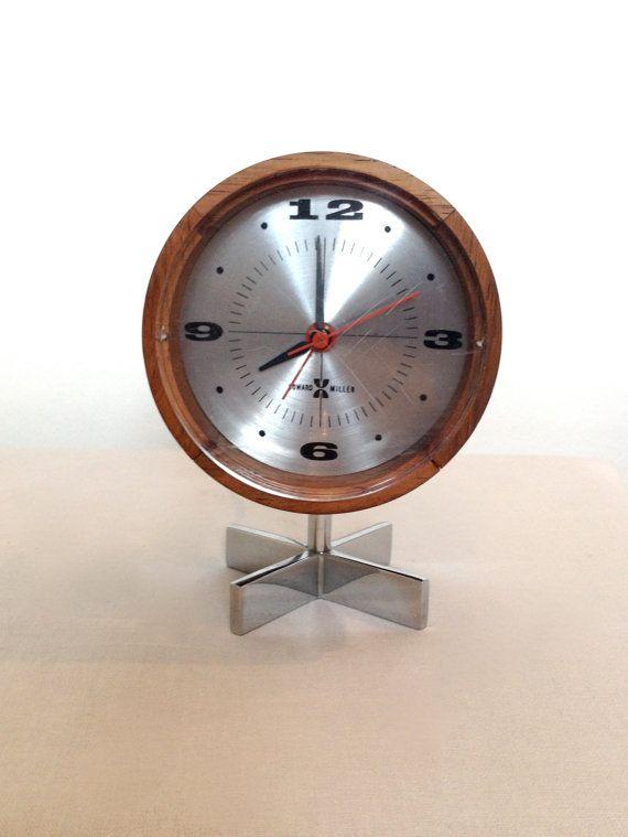 93 Best Images About Mid Century Desk Clocks On Pinterest
