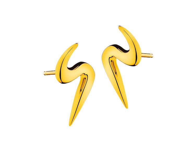 Złote kolczyki | Apart
