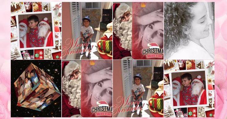 Mosaico com 8 fotos do Facebook