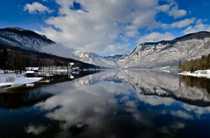 Lake Bohinj is the largest permanent lake in Slovenia. It's situated in the Triglav National Park, by Gregor Skoberne