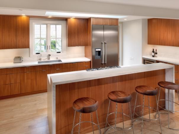 photo of brown eclectic kitchen project in belvedere ca by rossington