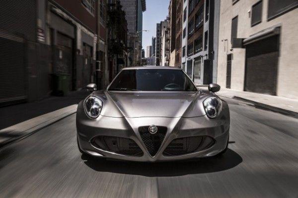 2015 Alfa Romeo 4C Silver