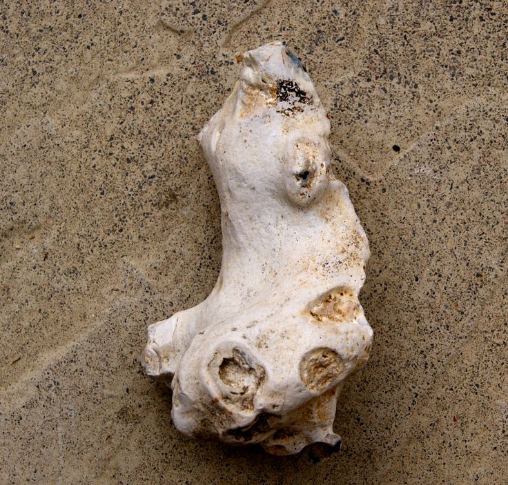 Side view of a flint figurine from the V2 shrine at Moon Temple. SF 57. British Neolithic/EBA. 5800-4000 years ago.