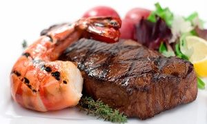 Groupon - Steaks and Fresh Seafood at SeaGalley & Pepper Mill (Up to 42% Off). Two Options Available. in AK: Managed: Pepper Mill/Sea Galley. Groupon deal price: $23