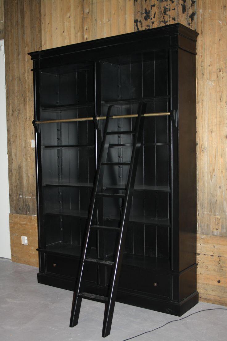 Meer dan 1000 ideeën over zwarte boekenkast op pinterest ...