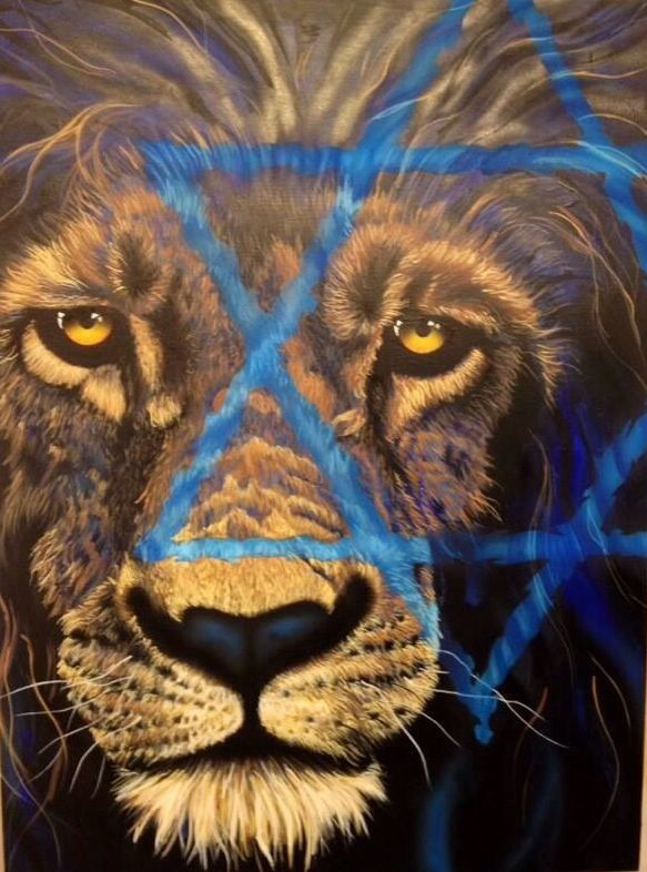 Lion of judah, prophetic art