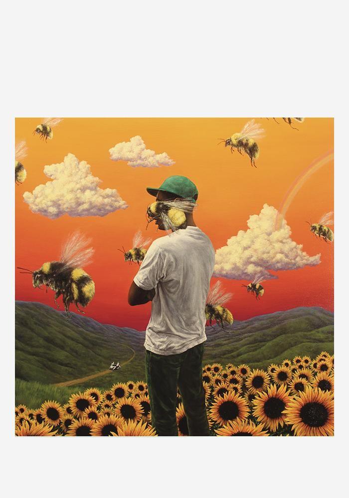 Tyler The Creator Flower Boy 2LP Cover art, Album cover