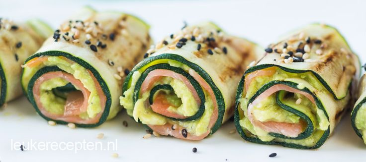 Oosterse courgetrolletjes
