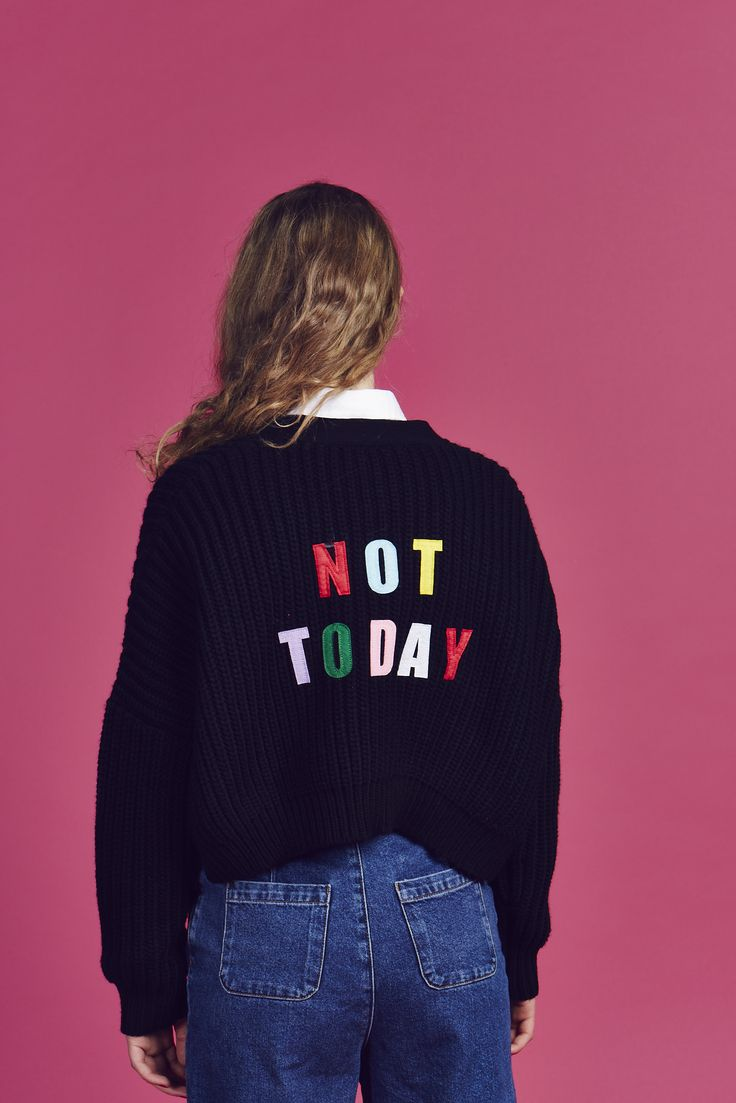 Lazy Oaf Not Today Cardigan