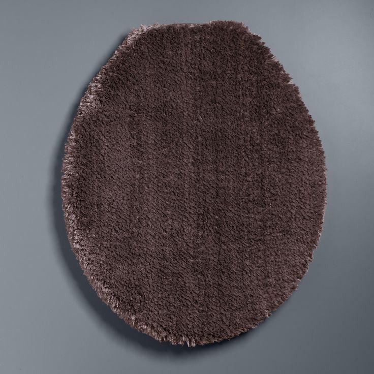 Simply Vera Vera Wang The Premium Luxury Solid Toilet Lid Cover, Brown