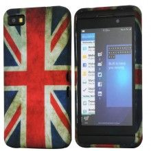 Forro BlackBerry Z10 - Carcasa Ultraligera Bandera UK  Bs.F. 50,38