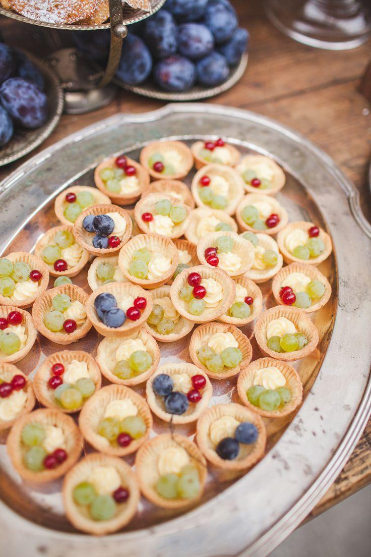 #Fruit Tartlett   See the Inspiration on #SMP Weddings: http://www.stylemepretty.com/little-black-book-blog/2013/12/11/french-farmhouse-inspired-wedding-inspiration-in-spokane-washington/  Urban Rose Photo