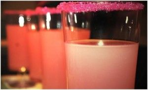 "Pink Lemonade Shooter ""You don't have to throw back your pretty pink lemonade shooter and lean a little closer....."""