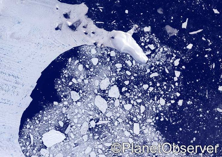 Weddell sea, Antarctica – PlanetSAT satellite image