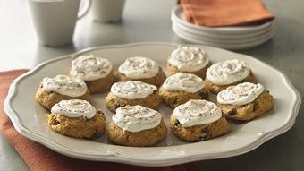 Pumpkin Cookies with Browned Butter Frosting recipe from Betty Crocker