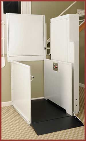 Unenclosed Wheelchair Lift By Symmetry Elevating Solutions | Commercial Or  Residential | 877.568.5804